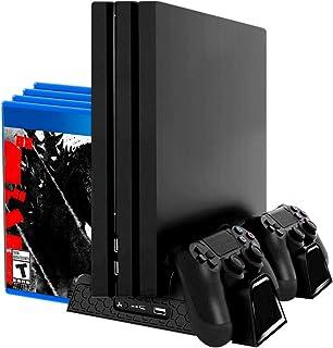 Redlemon Base Vertical y Ventilador para PlayStation 4 (Comp
