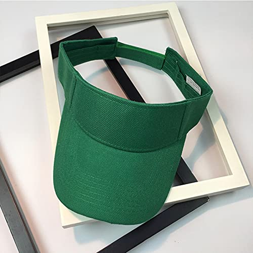 Bywenzai Gorra de Beisbol Moda Gorra De Béisbol Deportes Gorra para El Sol Hombres Mujeres Visera De Algodón Ajustable Protección UV Top Vacío Tenis Golf Correr Sombrero Protector Solar Ajustable Ver