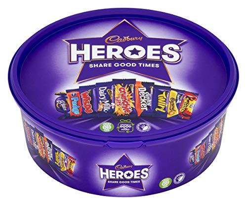 Cadbury Heroes Schokoladenwanne, 660 g