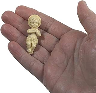 Best Plastic Baby Jesus Christ Figurine for Nativity Set or Kings Cake, 1 3/4 Inch Review