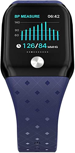 KLPI Bracelet Intelligent 1,3 Pouces - Couleur Intelligente - Bracelet de Sport - Pression artérielle - Moniteur de fréquence Cardiaque - Moniteur de Sommeil