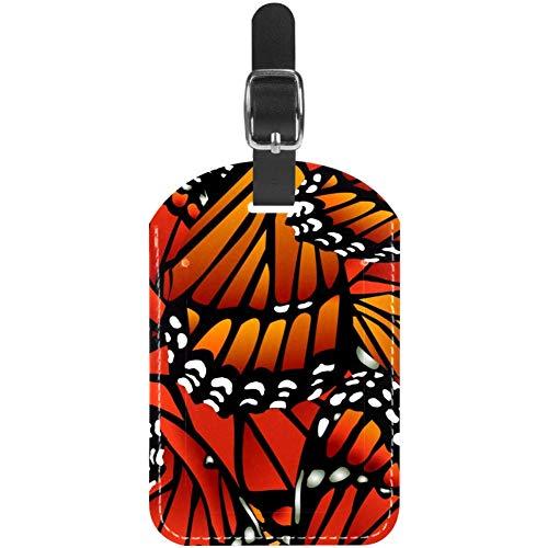 Etiquetas de Equipaje con alas de Mariposa para Maleta de Viaje, 1 Paquete