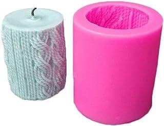 starte Silikonowa forma świecy 3D, ręcznie robiona forma do mydła, do samodzielnego wykonania świec, wełna do robienia na ...