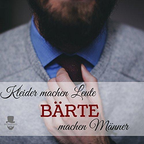 Gentlemens Bartbürste und Kamm Bartpflege Geschenk-Set  Abbildung 3