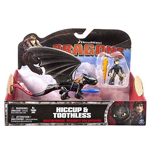 DreamWorks Dragons, Dragon Riders, Hiccup & Toothless dragons trainer