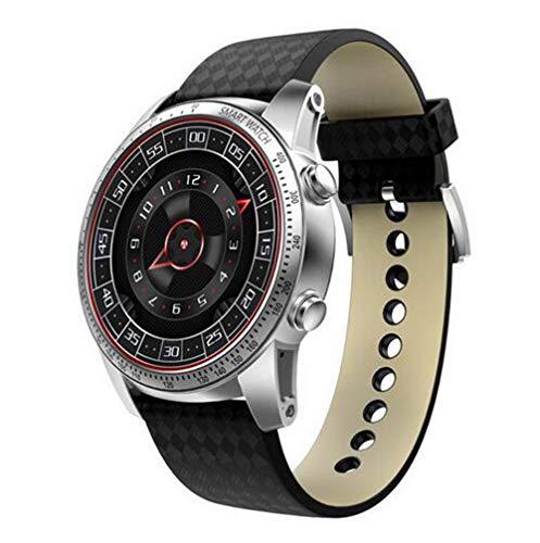 Jaylong 3G Smartwatch Smartwatch für Herren, Android 4,4 cm MTK6580 Quad Core Herzfrequenz-Monitor, Schrittzähler, GPS, Smartwatch für Herren