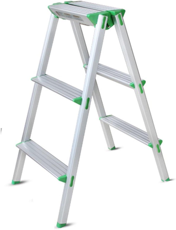 Qivor Step Stool, Ladder Aluminum Folding Ladder Footstool Step Stool