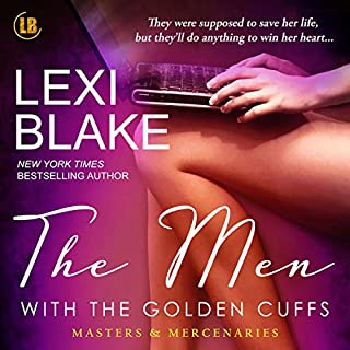 The Men with the Golden Cuffs audiobook cover art