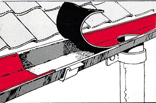 Westfalia Dach Reparaturband 150 mm, 10 m lang, Bleifarben, selbstklebend