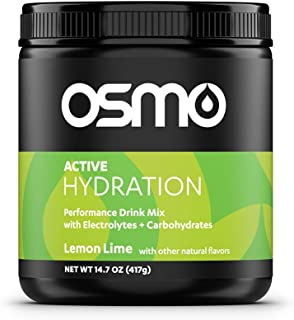 Osmo Nutrition Active Hydration Mix | During-Exercise Electrolyte Powdered Drink | Fastest Way to Rehydrate | Improves Pow...