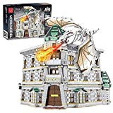 LINANNAN Set de Edificios modulares 4185PCS Bloques de construcción Modelo de casa Diagon Alley Bank Compatible con