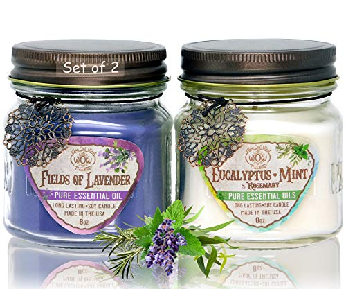 Way Out West 80 Hour Aromatherapy Scented Candles