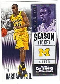 Basketball NBA 2016-17 Panini Contenders Draft Picks Season Ticket #91 Tim Hardaway Jr. NM-MT