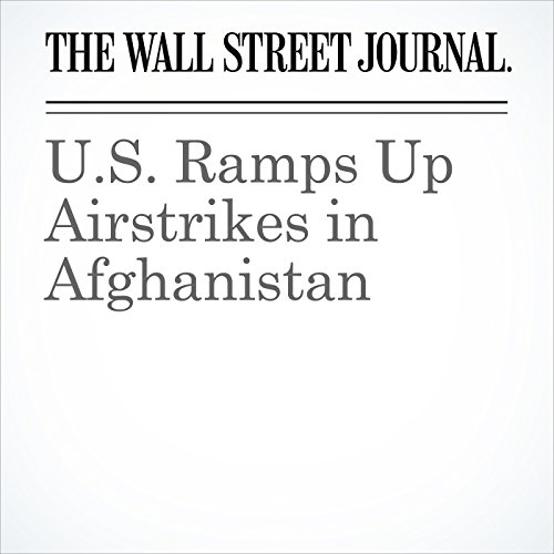 U.S. Ramps Up Airstrikes in Afghanistan copertina