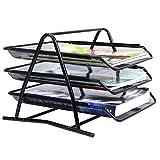 COSTWAY Ablagefächer Ablagesystem Büro Schreibtisch Organisation Briefablage Papierablage Briefkorb metall