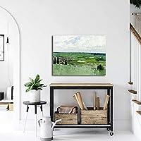 Ilya Repin印象派絵画キャンバスアートパネルワーク版画リビング部屋壁装飾壁アートパネルIlya Repinポスター玄関壁画像50x65cmフレームレス