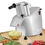 Commercial Electric Vegetable Processor Cutter Grater Machine 550W Food Shredder/Slicer Stainless Steel for Fruit Potato Ginger Garlic Cheese 50Kg/H