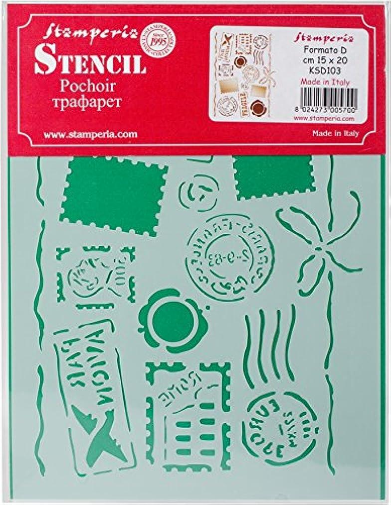 Stamperia Intl by Air Stamperia Stencil D 7.87