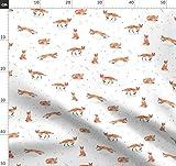 Fuchs, Wald, Wasserfarben, Kinderzimmer, Füchse, Druck