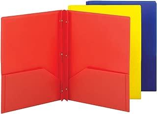 pocket poly folders