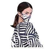 Pañuelo facial con estampado de mariposas, lavable, cómodo y transpirable, se puede añadir