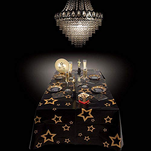 Boland 44158 - Mantel VIP, Color Negro y Dorado