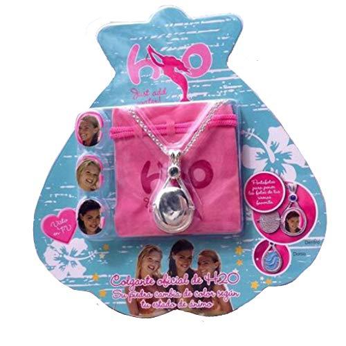 H2O Just Add Water Locket Necklace Toggle Clasp Rhinestone Version Jewelry