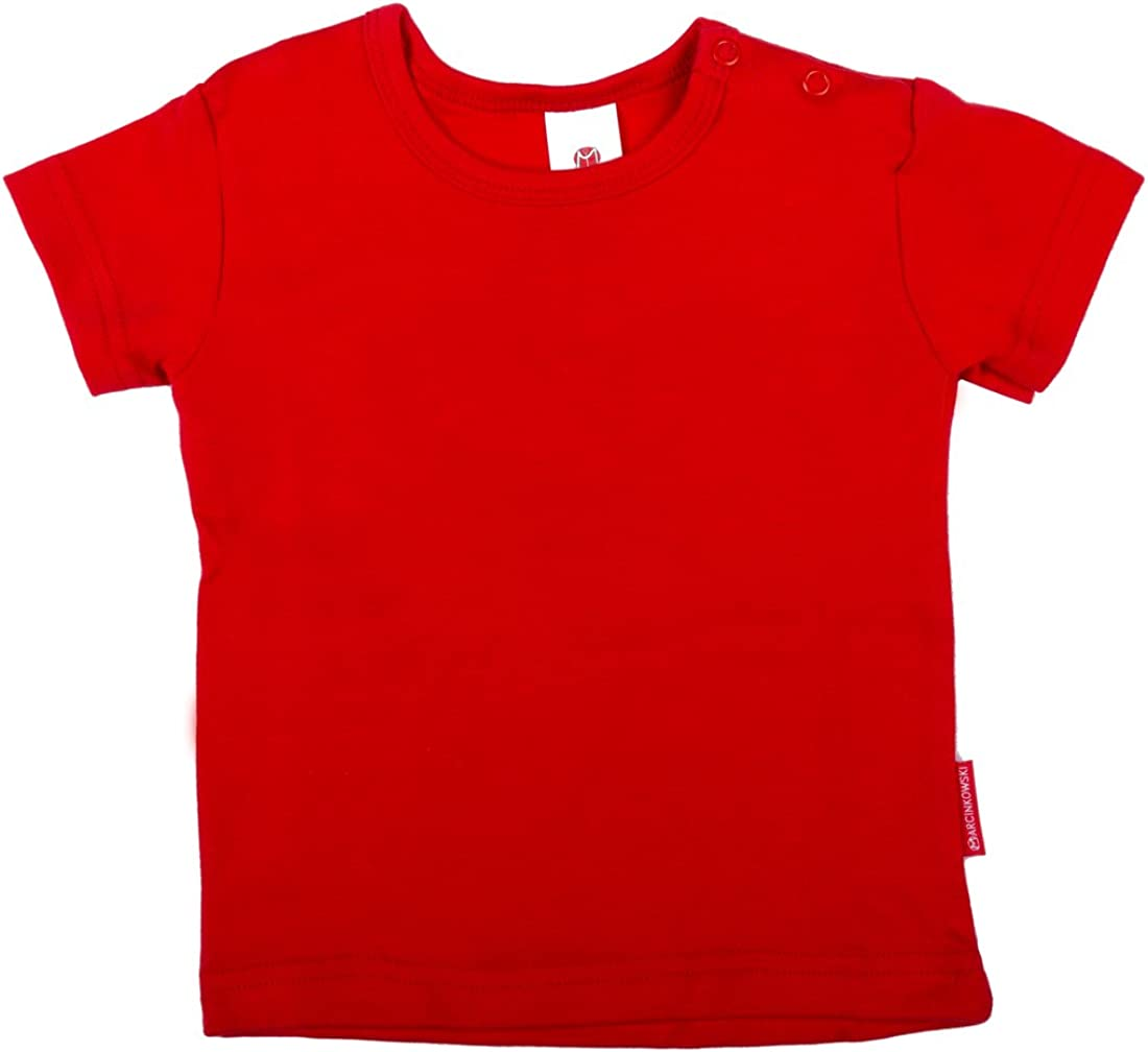 Cotton Baby T-Shirt Long Or Short Sleeve Or Vest Top
