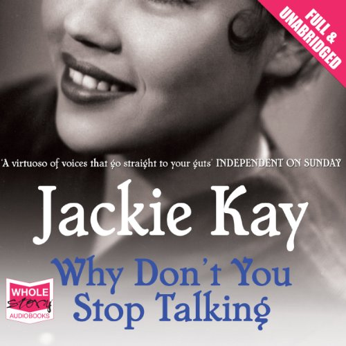 Why Don't You Stop Talking audiobook cover art