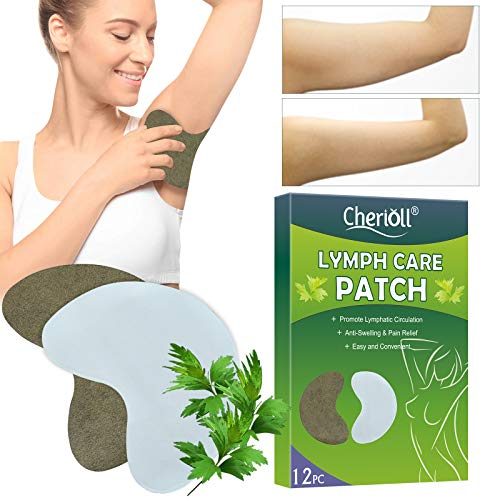 Lymph Care Patch, Achsel Lymph Care Patch, Kräuter Lymphpflege Pflaster, Hals Anti-Schwellung Lymphatisches Entgiftungspflaster Aufkleber Brust Lymphknoten Pflaster Pads Hilfe