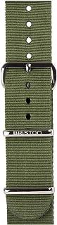 Briston - Bracelet Type NATO - Vert Militaire