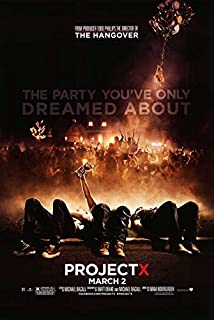 Movie Posters Project X - 27 x 40