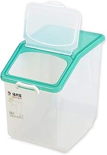 Pots et bocaux de conservation Boîte de riz de ménage baril de riz baril de riz résistant à l'humidité et aux insectes boî...