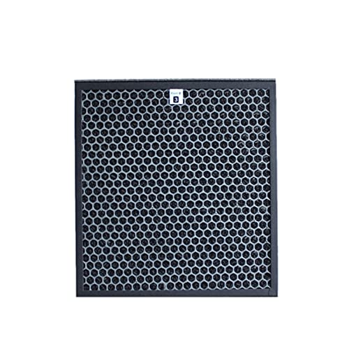 FPZHONG. AC4121 + AC4123 + AC4124 Kit Filtri per AC4002 AC4004 AC4012. Parti di Purificatore d'Aria (Color : Black)
