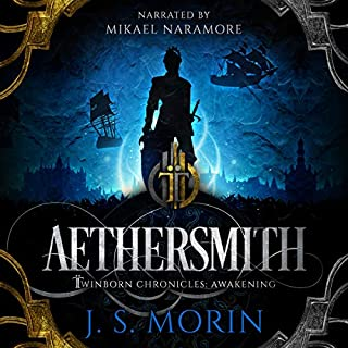 Aethersmith     Twinborn Chronicles, Book 2              Written by:                                                                                                                                 J. S. Morin                               Narrated by:                                                                                                                                 Mikael Naramore                      Length: 23 hrs and 40 mins     Not rated yet     Overall 0.0