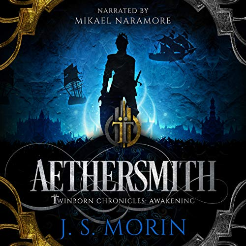 Aethersmith audiobook cover art