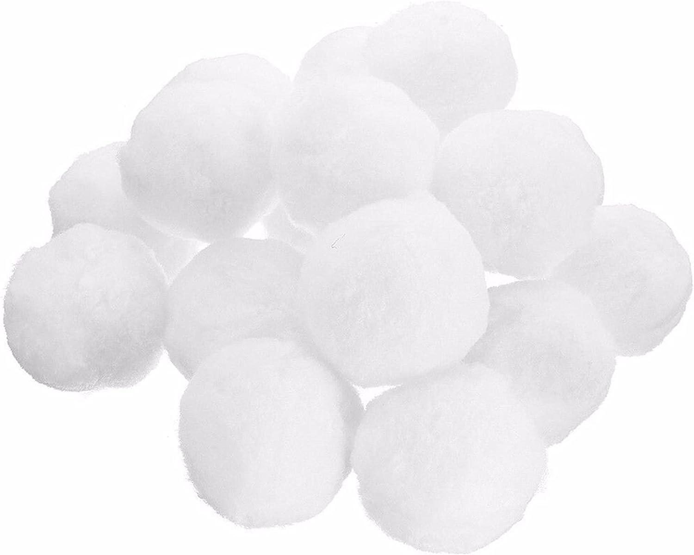 HGoods Durable Finally resale start 1000g safety White Filter S Quartz Sand Filterballs