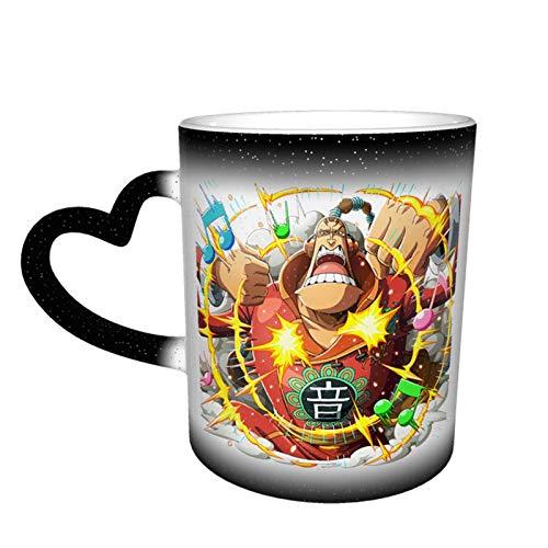 Vdaras Drinkware Tazas Scratchmen Apoo O-N-E-Piece Tazas de café sensibles al calor