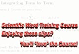 SWTraining5.5: Scientific Word/WorkPlace v5.5 Training videos (Commercial/Academic)