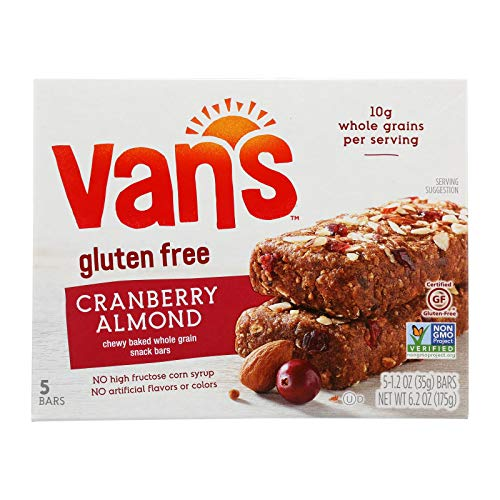 Vans Cranberry Almond Snack Bar, 1.2 Ounce - 5 per pack - 6 packs per case.