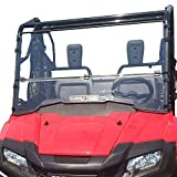 Clearly Tough Honda Pioneer 700 Windshield -...