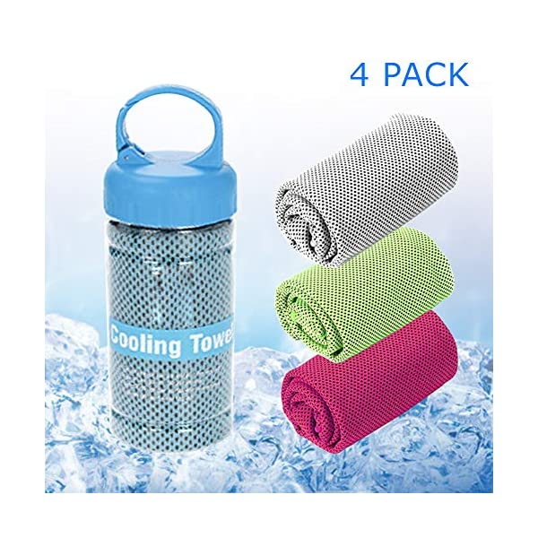 SUKYED Cooling Towels,Yoga Towel,Sport Towel,Quick Dry,Microfiber Towel,Chilly Towel...