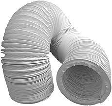 daniplus Abluftschlauch PVC flexibel Durchmesser 100/102 mm, 3 m z.B. für Klimaanlagen, Wäschetrockner, Abzugshaube