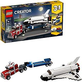 LEGO Creator 3in1 Shuttle Transporter 31091 Building Kit , New 2019 (341 Piece)