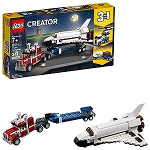 LEGO Creator 3in1 Shuttle Transporter 31091 Building Kit (341 Pieces) - 513cTTQ6tYL - LEGO Creator 3in1 Shuttle Transporter 31091 Building Kit (341 Pieces)