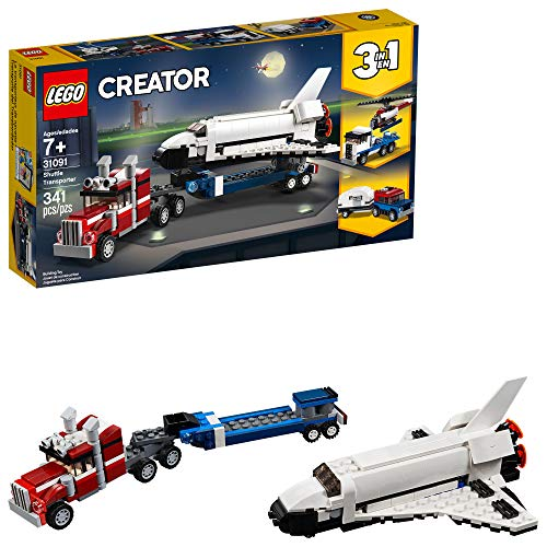 LEGO Creator 3in1 Shuttle Transporter 31091 Building Kit (341 Pieces)