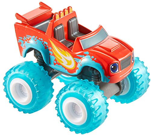 Fisher-Price Mattel – GGW59 Blaze und die Monster-Maschinen – Water Rider Blaze – DieCast Fahrzeug