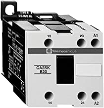 SCHNEIDER ELECTRIC CA2SKE20T7 Alternating RELAY-480-50/60