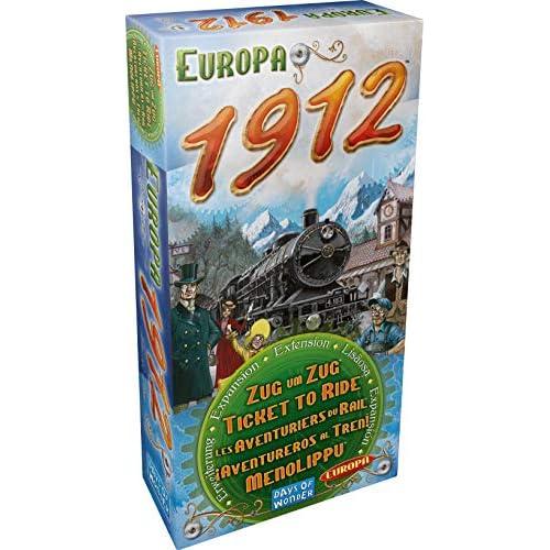 Asmodee- Ticket To Ride Europa 1912 espansione Gioco da Tavolo, Colore, 0120