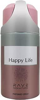 Rave Signature Happy Life Perfumed Spray, 250ml